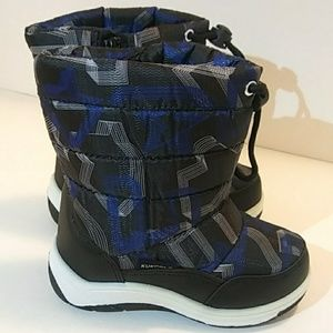 Other - ❄⛄💦 Boys Cold Weather Boots Blue/Black❄⛄💦